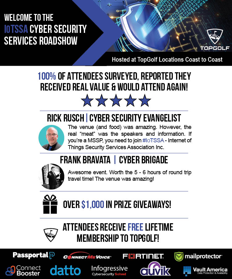 Cyber Security Expo: A 1-Day Cyber Security Event at TopGolf!