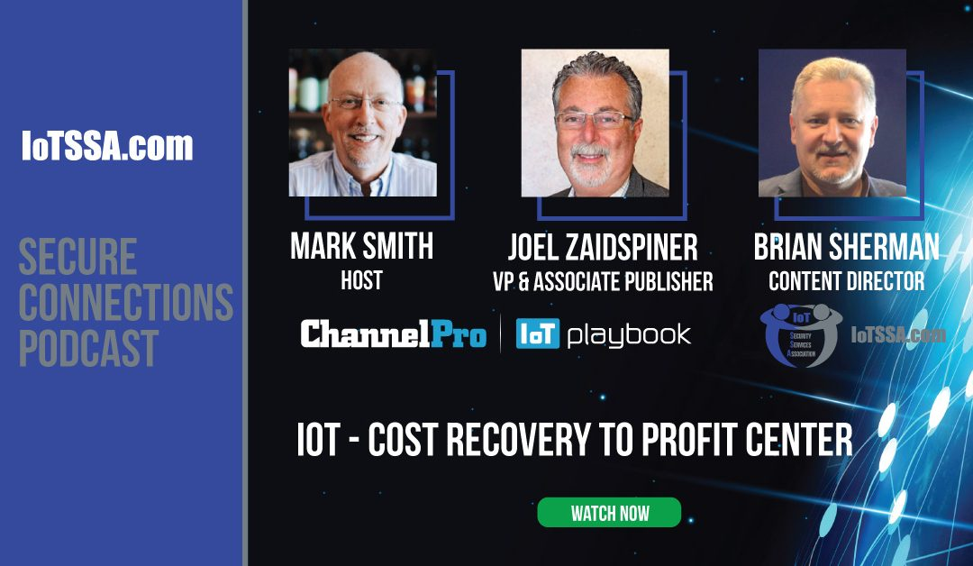 IoT – Cost Recovery to Profit Center